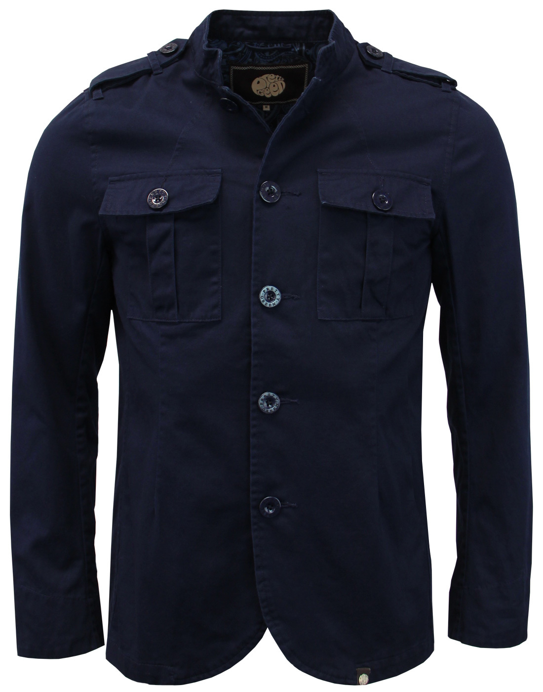 Langford PRETTY GREEN Mod Military Twill Jacket N