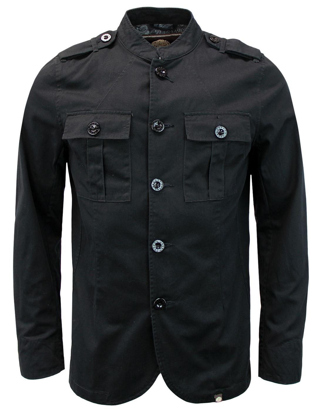 Langford PRETTY GREEN Mod Military Twill Jacket B