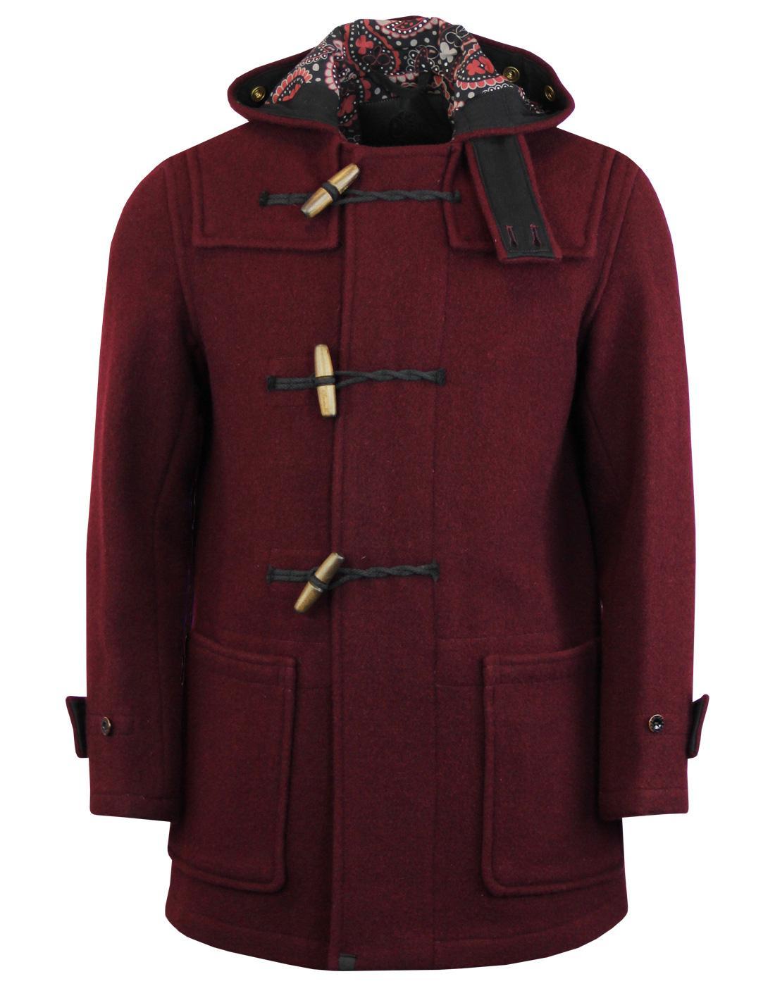 cd6651d5b GLOVERALL PRETTY GREEN Monty Barrett Made in England Duffle Coat
