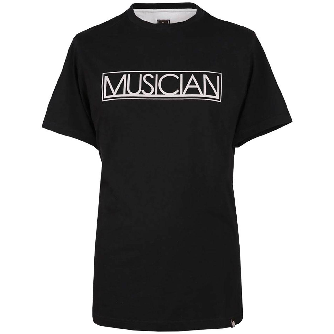 PRETTY GREEN Musician Mens Retro Graphic Logo Tee