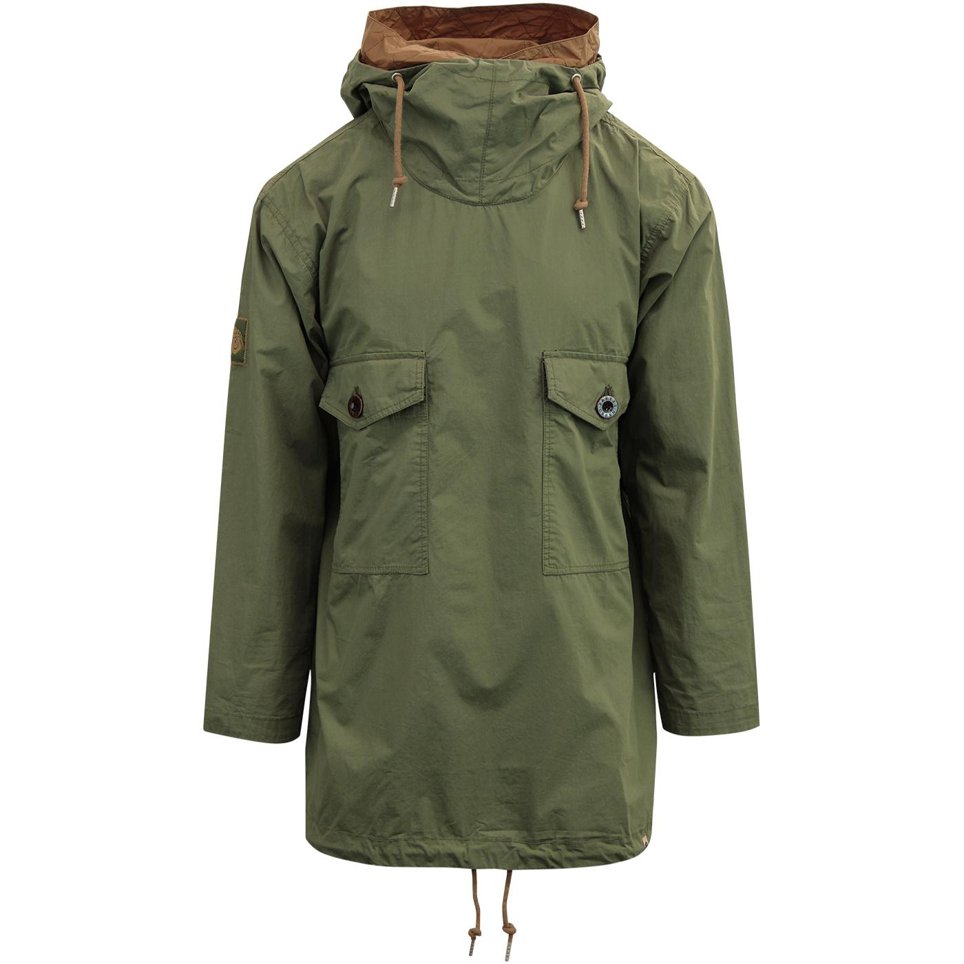 PRETTY GREEN Indie Two Pocket Overhead Jacket G