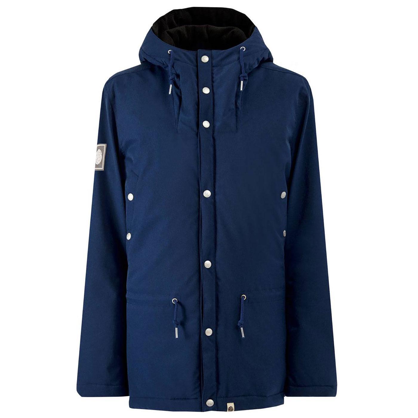 PRETTY GREEN Water Resistant Melange Padded Jacket