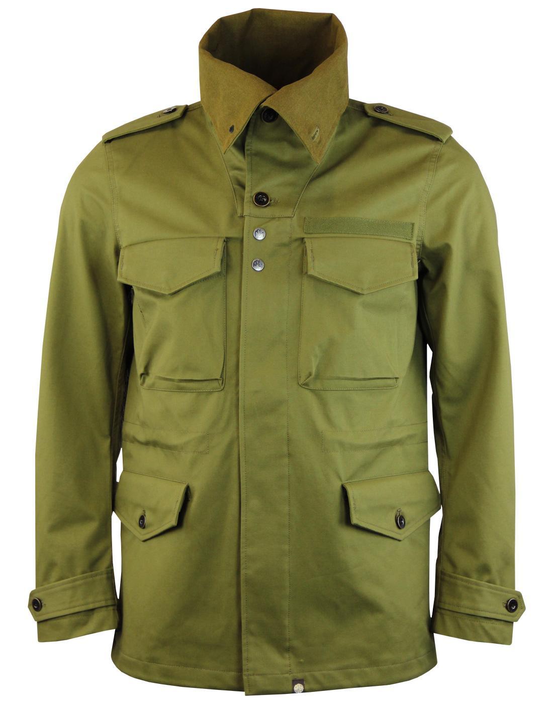 Roeburn PRETTY GREEN Mod Funnel Neck Field Jacket