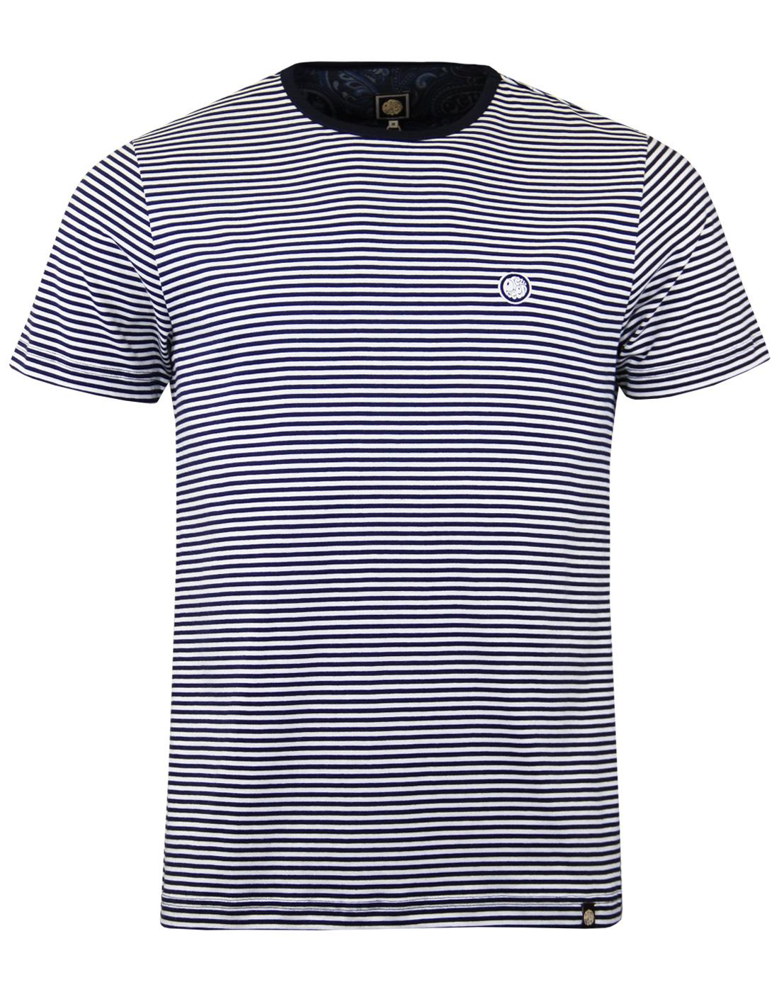 Summerbee PRETTY GREEN Retro Mod Feeder Stripe Tee