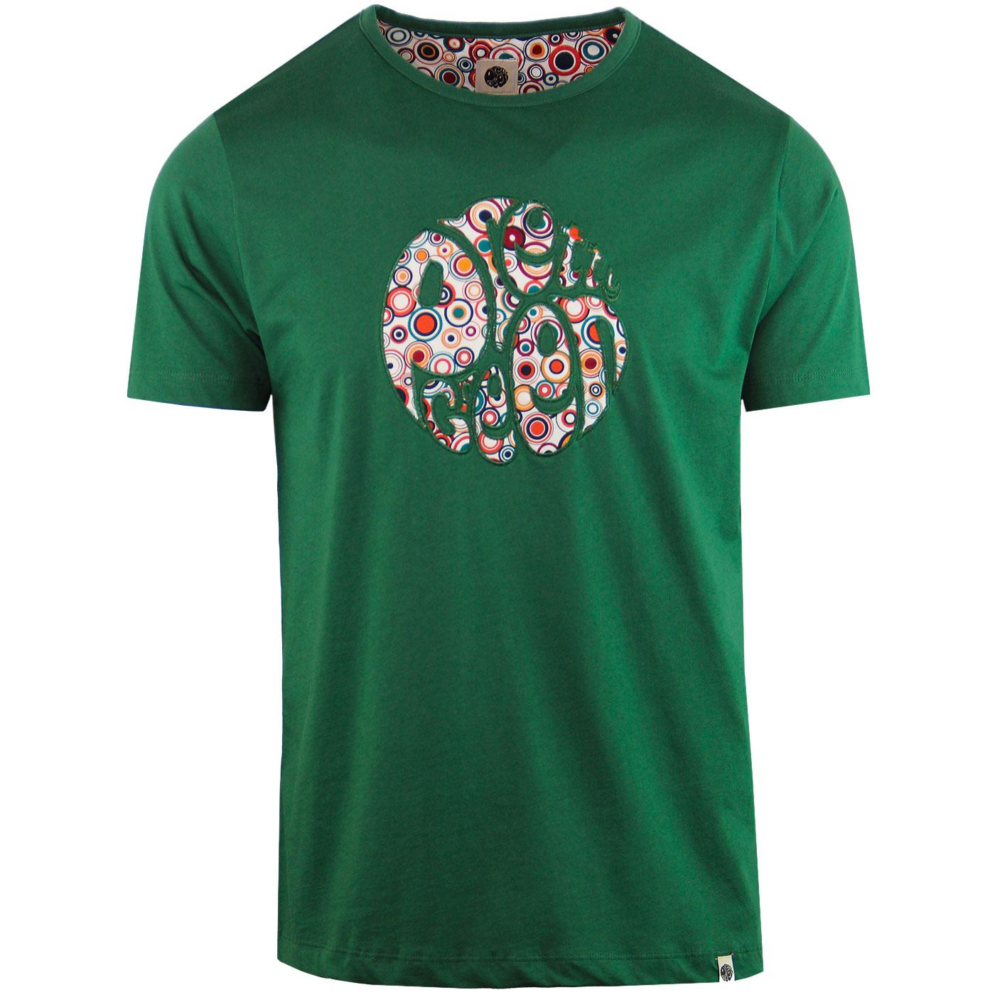 PRETTY GREEN Applique Target Logo Print Tee (G)