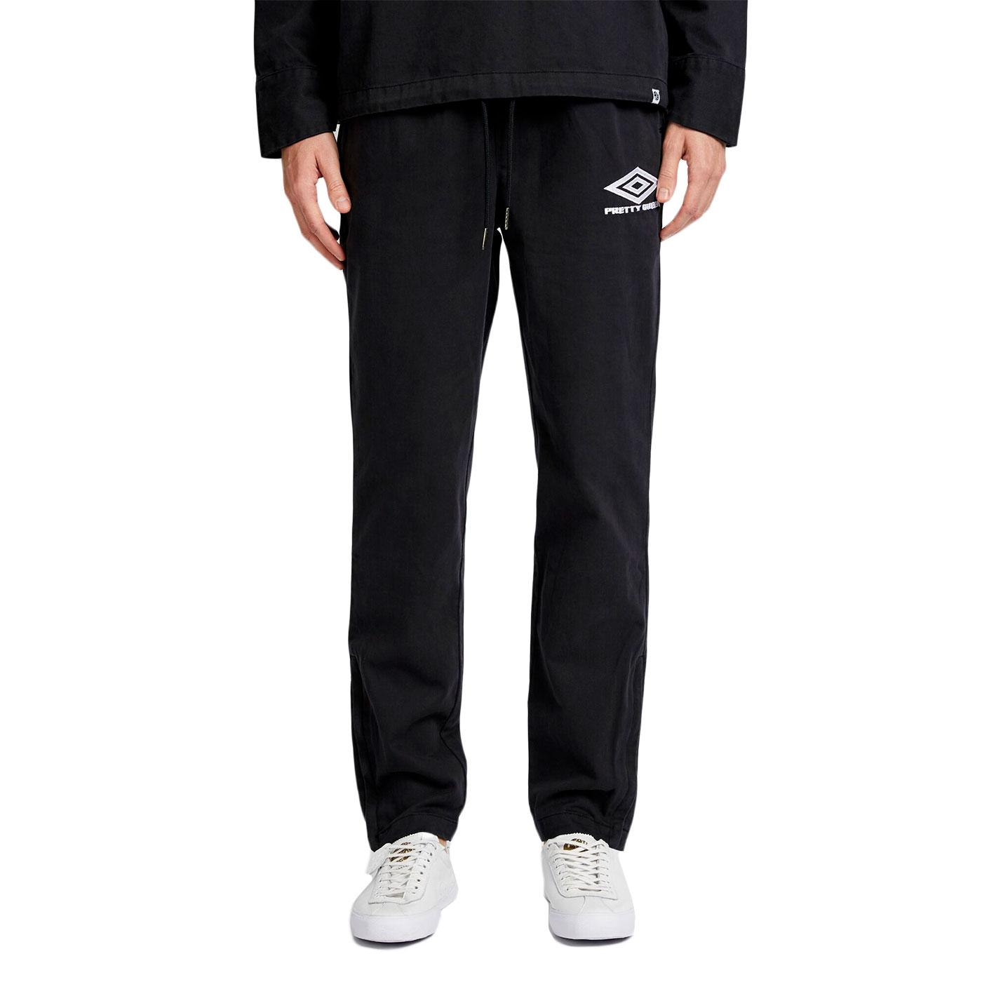 PRETTY GREEN X UMBRO Retro Drill Track Pants B