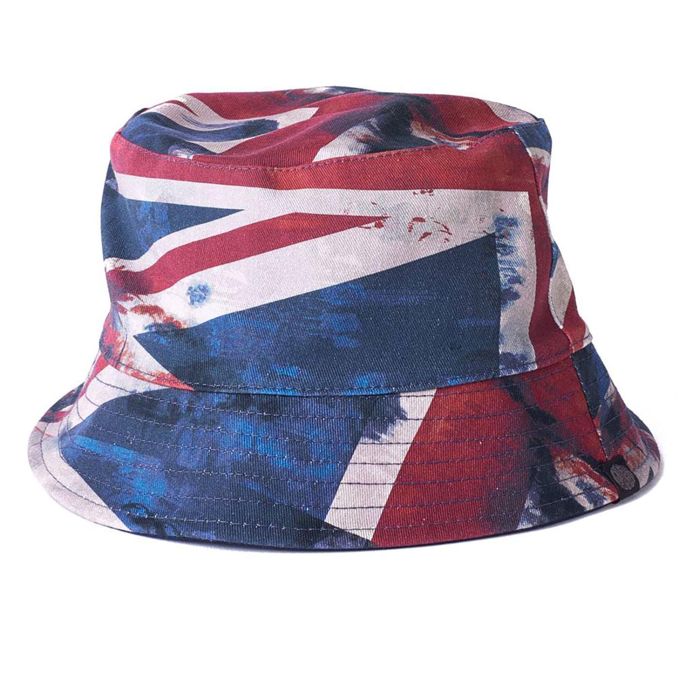 PRETTY GREEN 90's Reversible Union Jack Bucket Hat