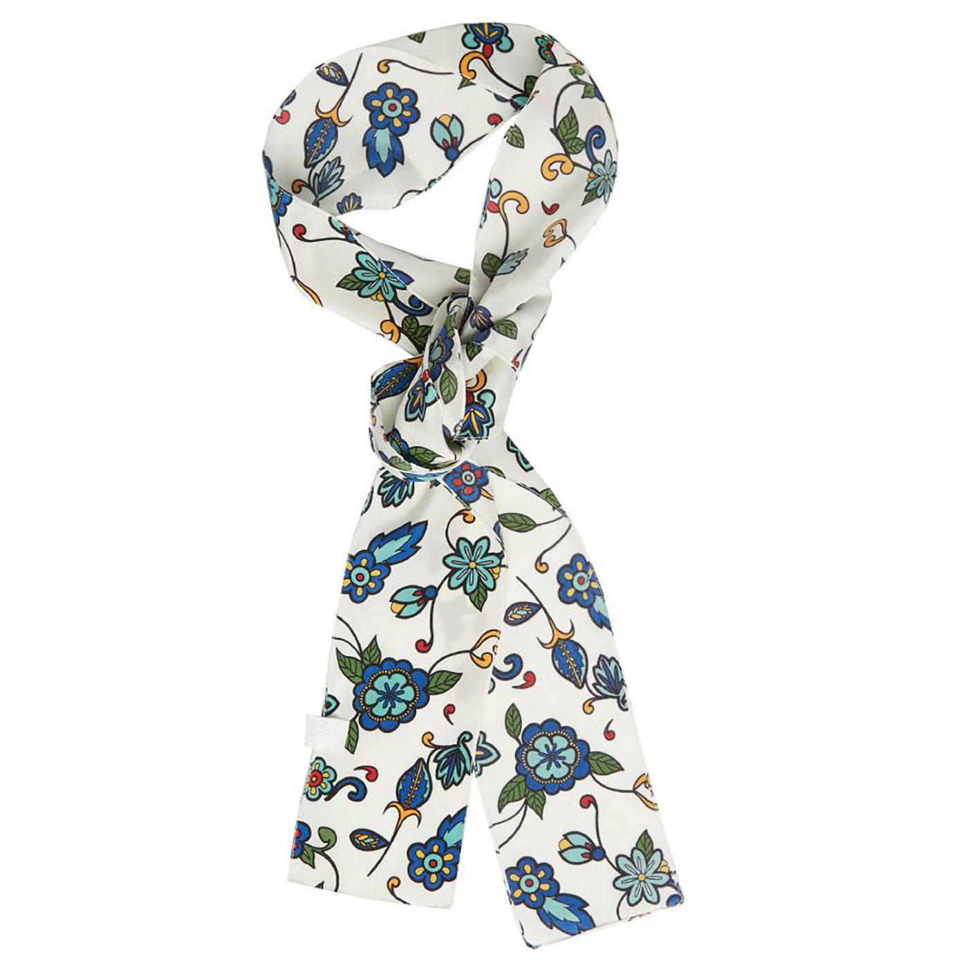 PRETTY GREEN X THE BEATLES Prudence Floral Scarf