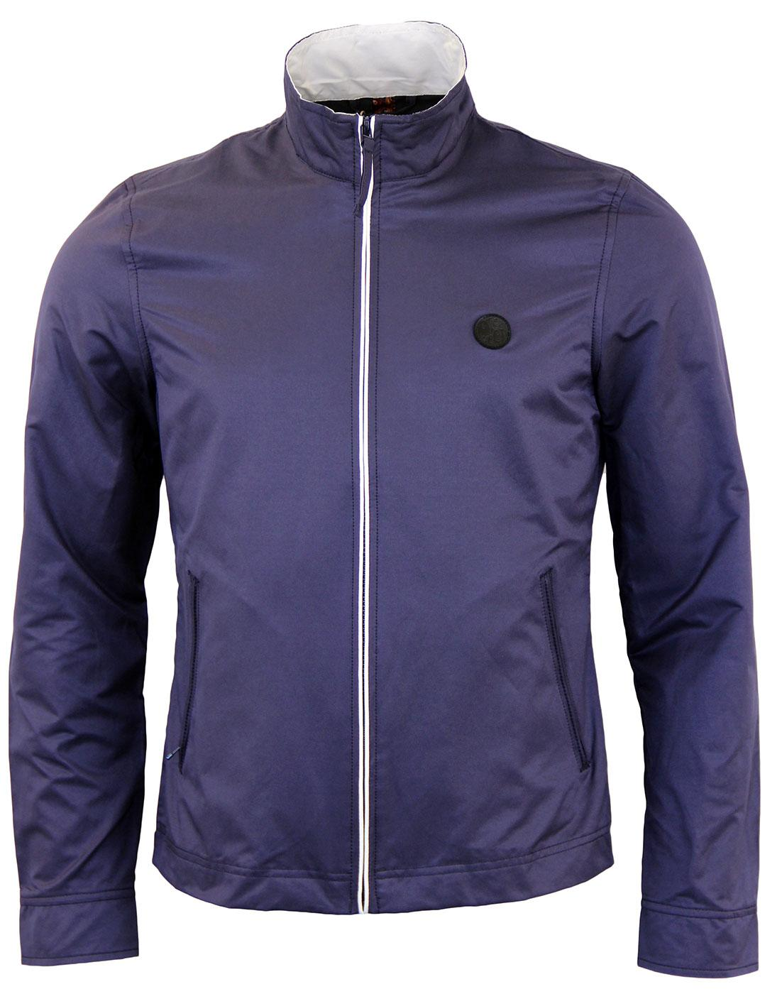 PRETTY GREEN Mod Navy Corporation Monkey Jacket