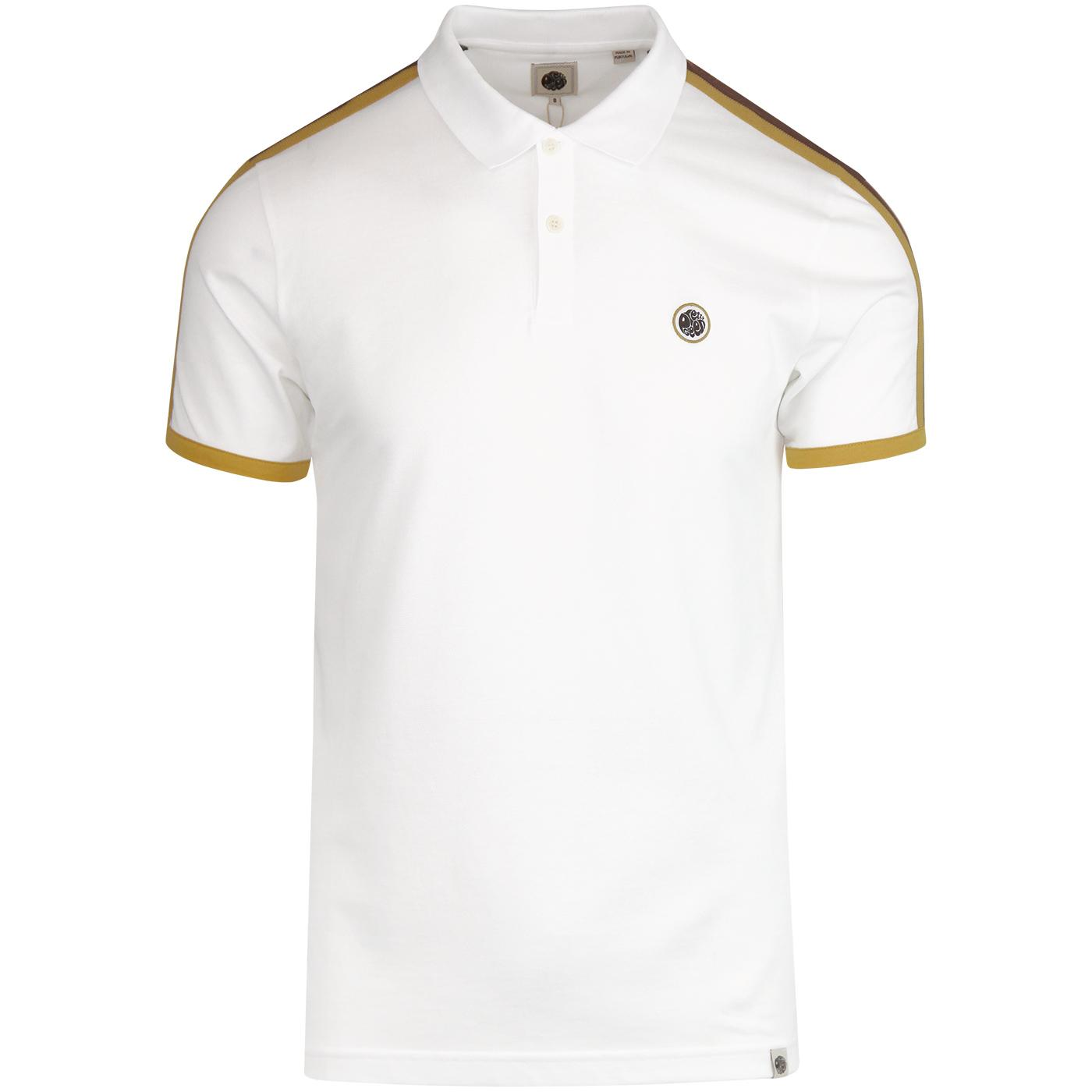 PRETTY GREEN Retro Mod Contrast Panel Polo Top (W)