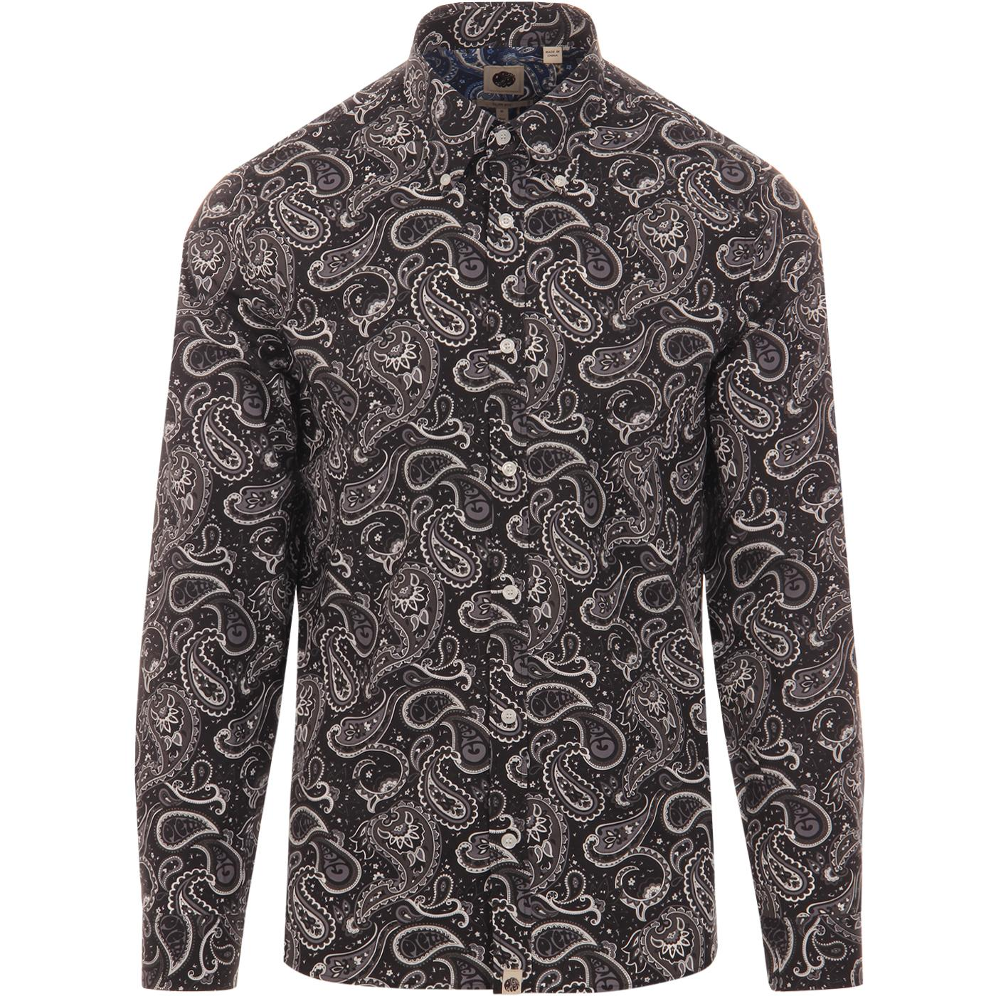 Westbrook PRETTY GREEN Mod Signature Paisley Shirt