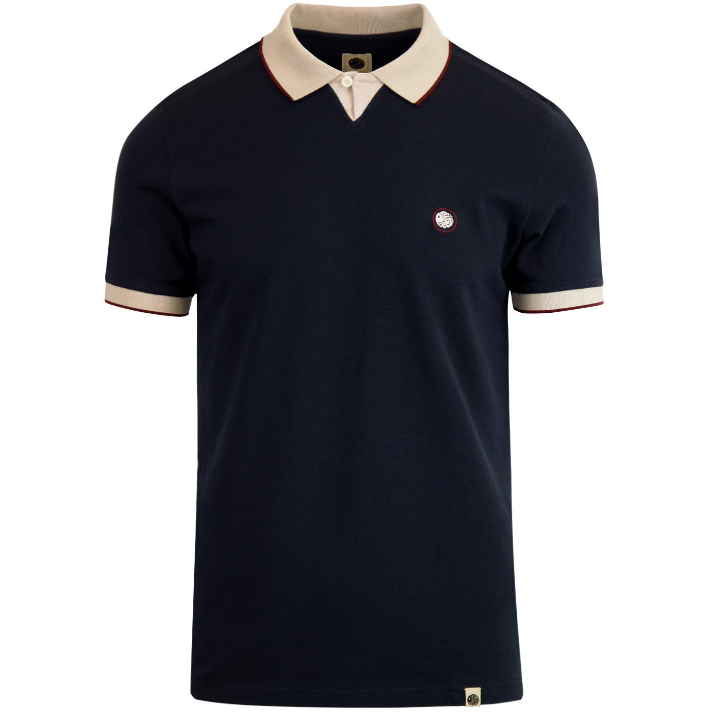Silverdale PRETTY GREEN Retro Sports Collar Polo N