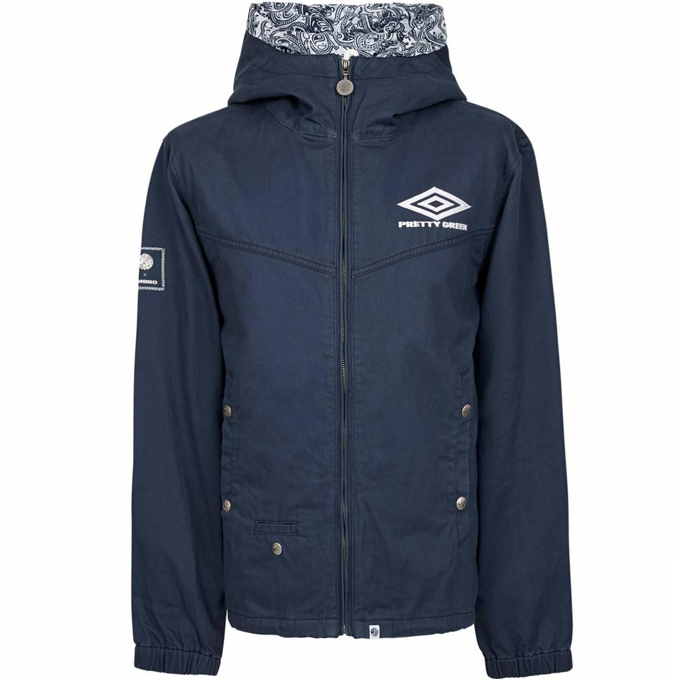 A9GMU00065757 umbro cotton zip up hooded jacket na