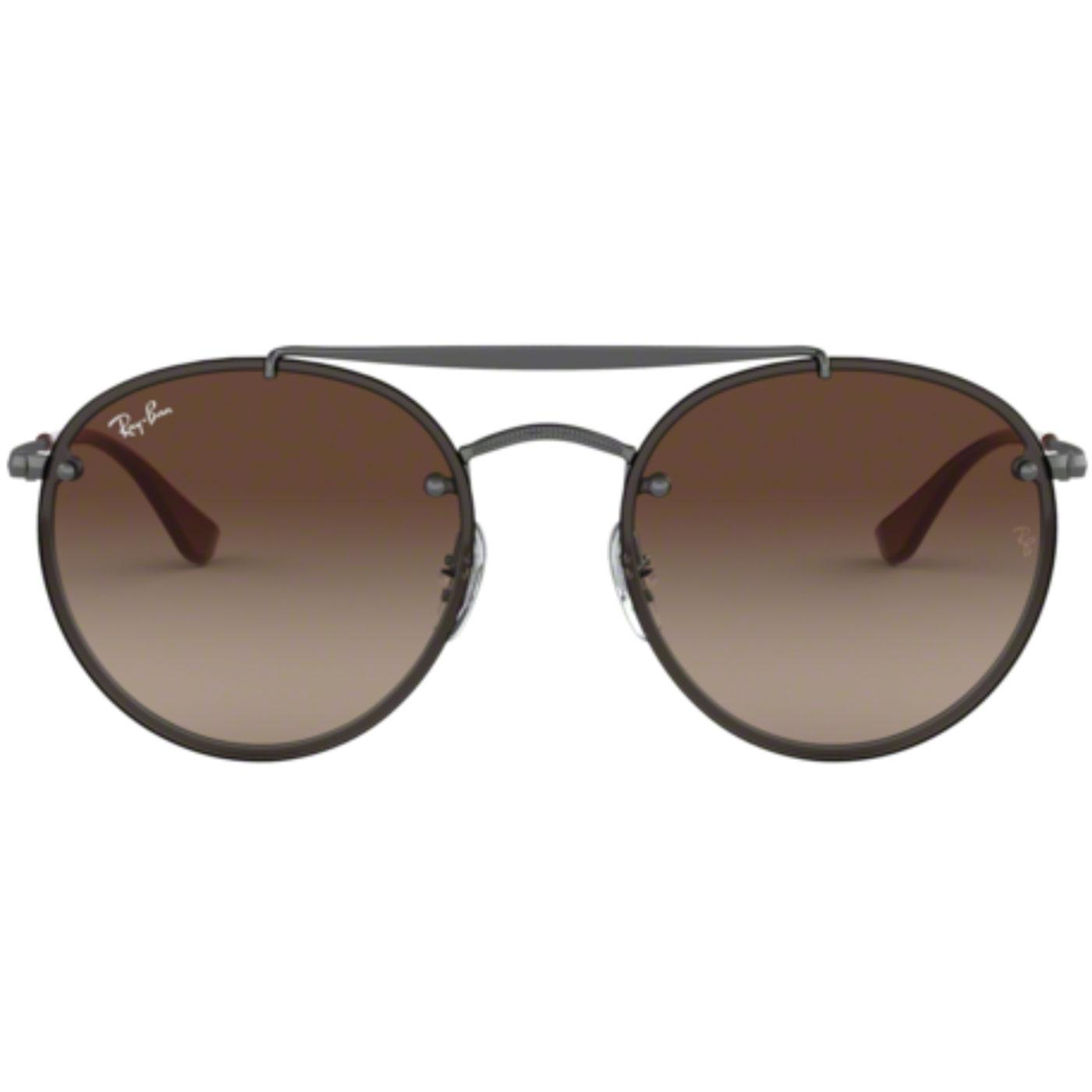 RAY-BAN 60s Double Bridge Blaze Round Sunglasses G