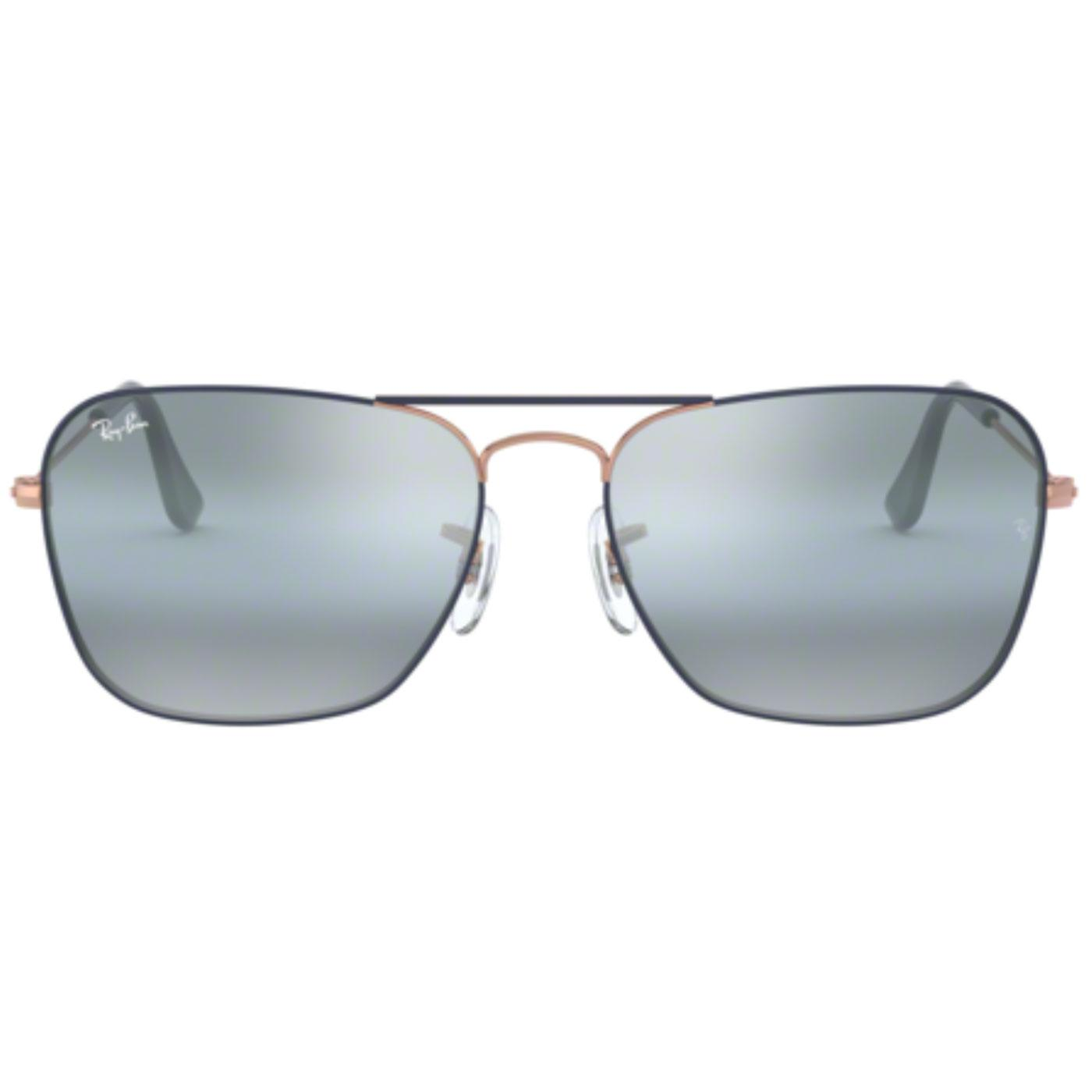 Caravan RAY-BAN Retro 50s Mod Sunglasses in Copper