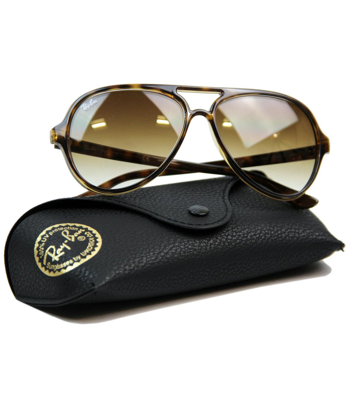 1db67960f3 where can i buy ray ban cats 5000 plastic aviator sunglasses nose ...