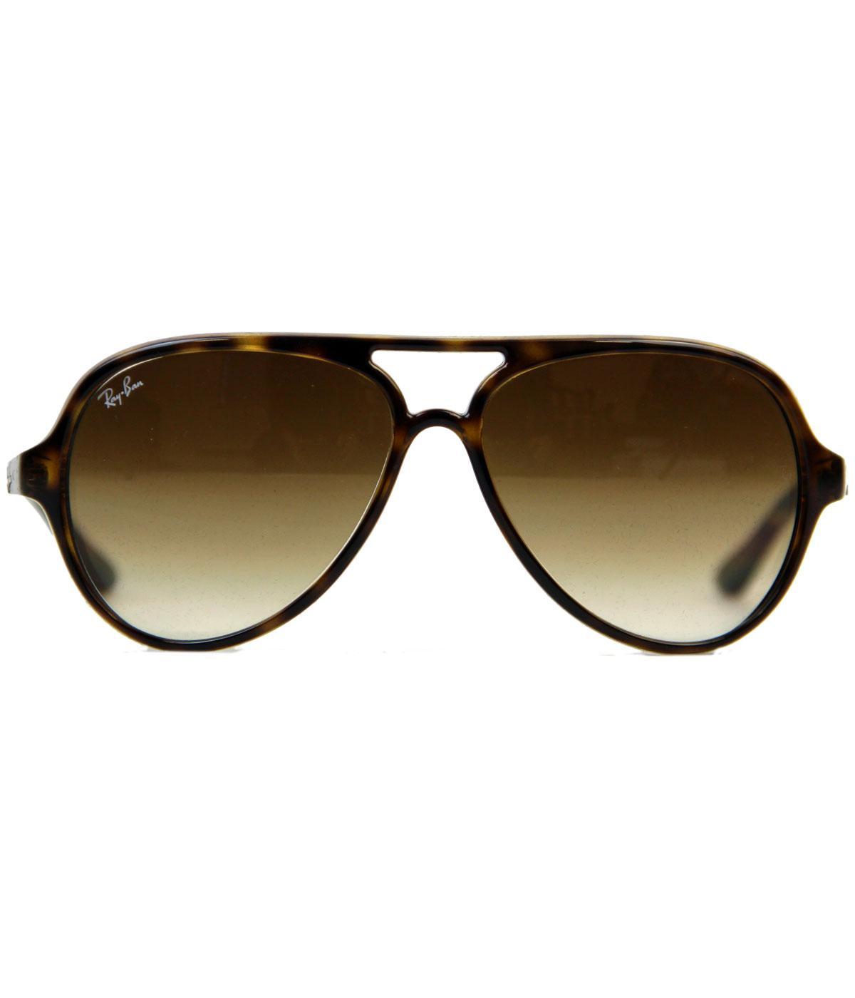 Cats 5000 Aviator Sunglasses   Ray-Ban Retro Sixties Mod Brown Shades b41448caf5b4