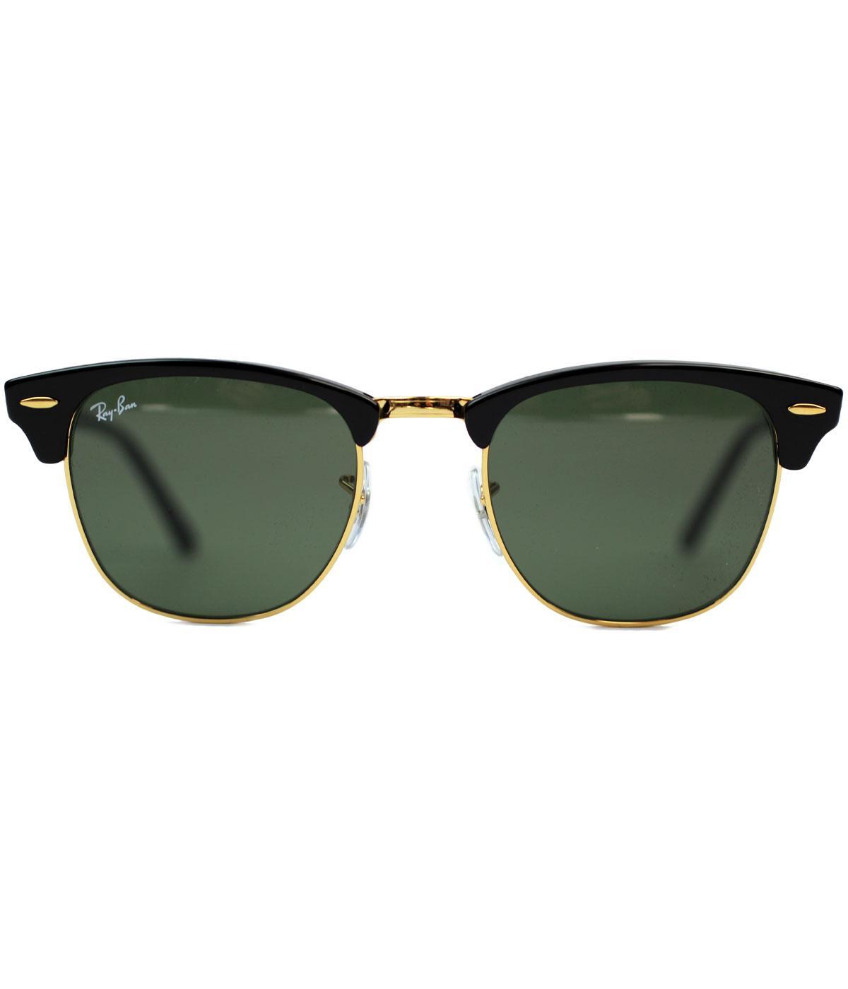 Clubmaster RAY-BAN Icons Retro Mod 60s Sunglasses