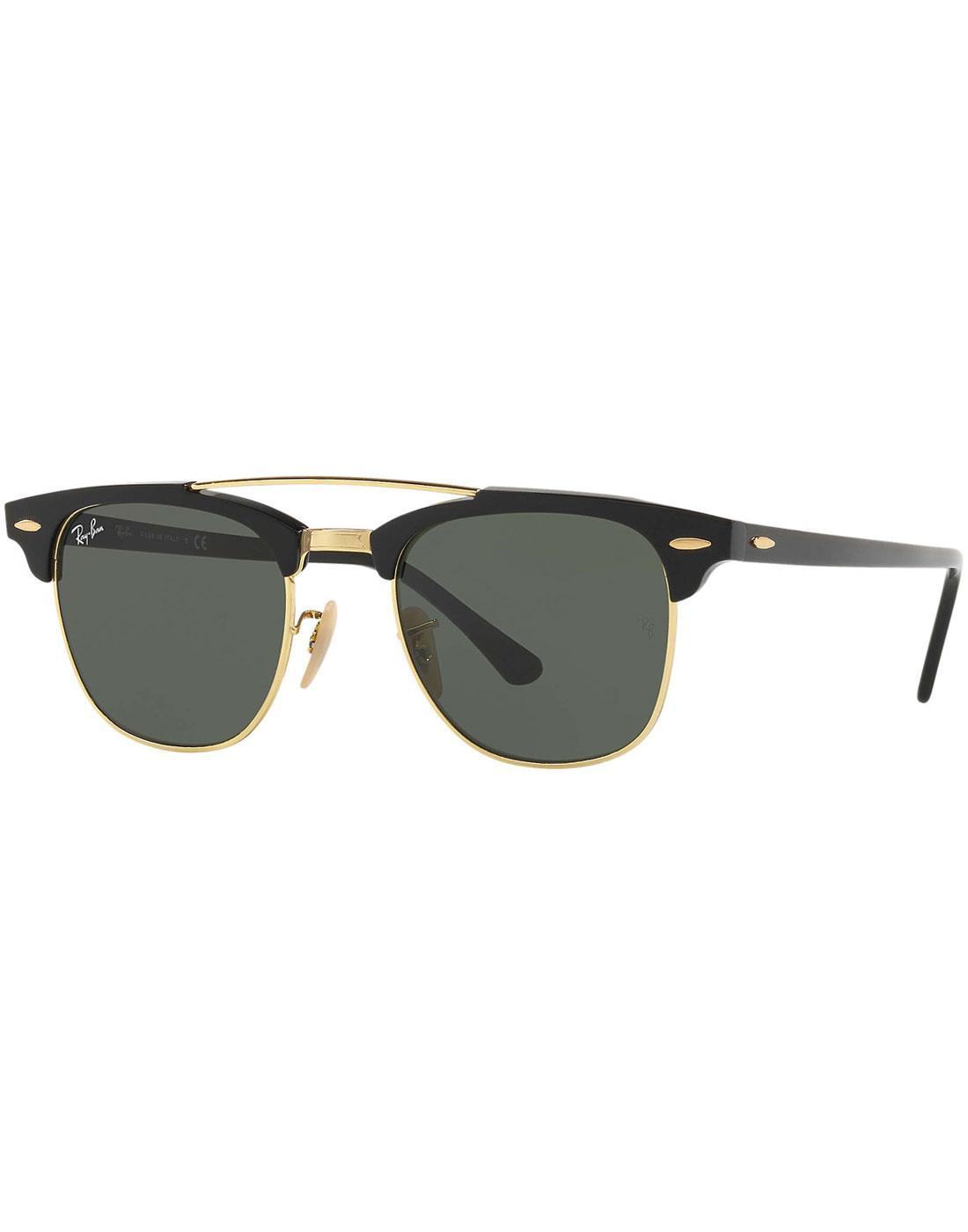 Clubmaster RAY-BAN Double Bridge Retro Sunglasses