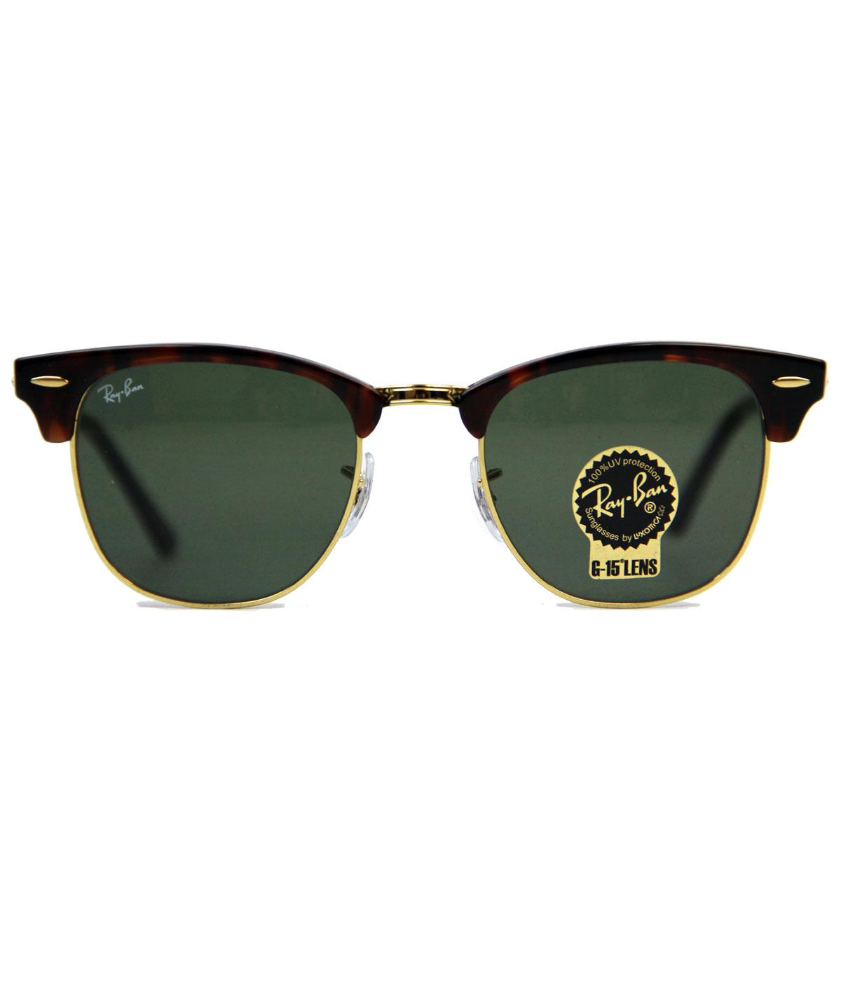 Ray-Ban Retro Mod Clubmaster Indie Sunglasses (Br)