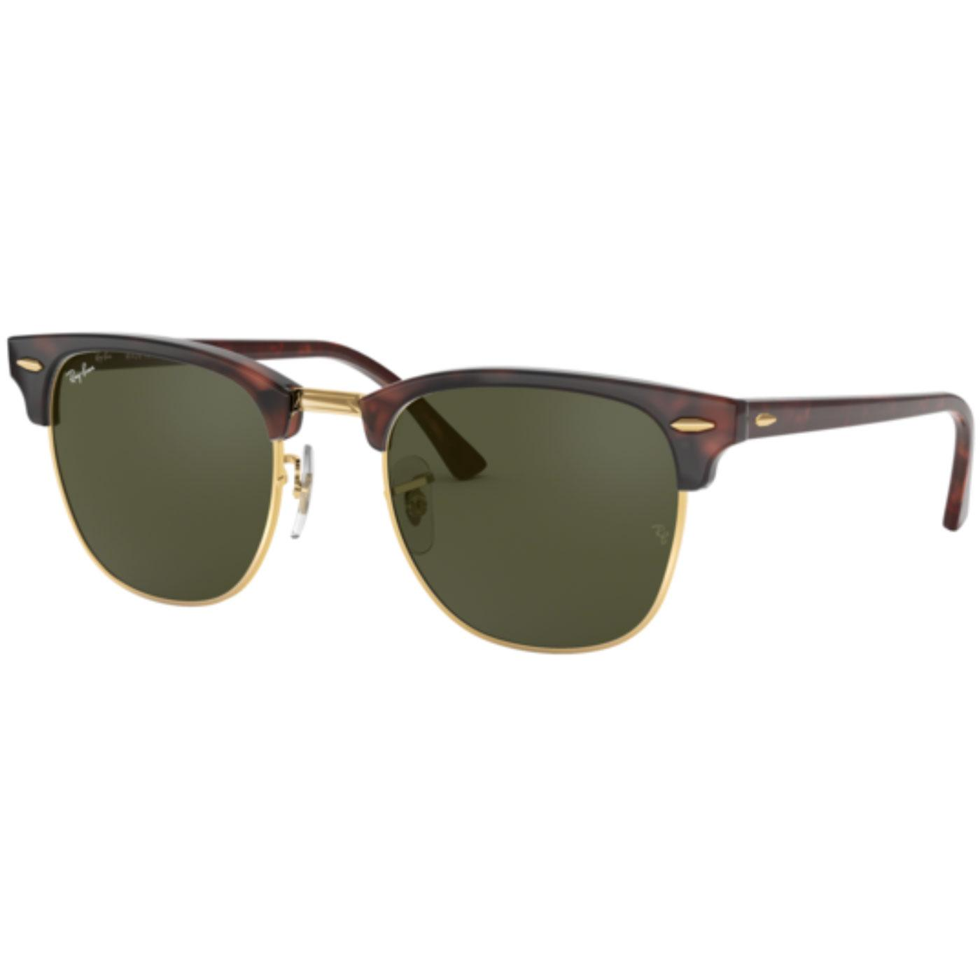 87bc2abdff Ray-Ban Retro Mod Clubmaster Indie Sunglasses in Brown