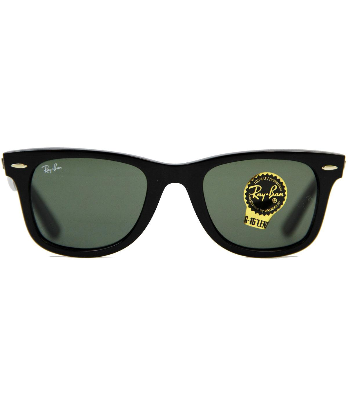 Ray-Ban Retro Mod Wayfarer Indie Sunglasses (Bl)