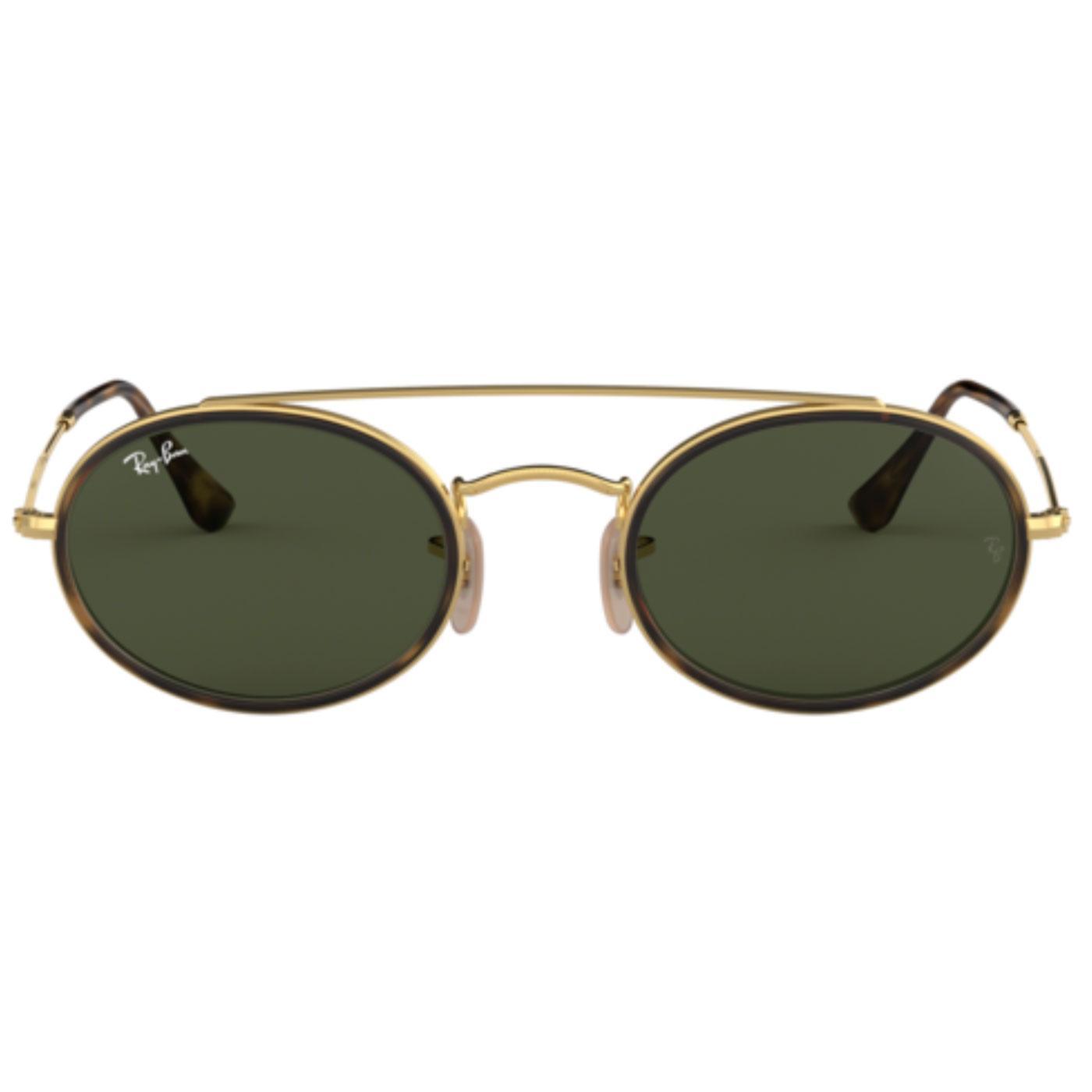 RAY-BAN Retro Double Bridge Round Sunglasses (G)