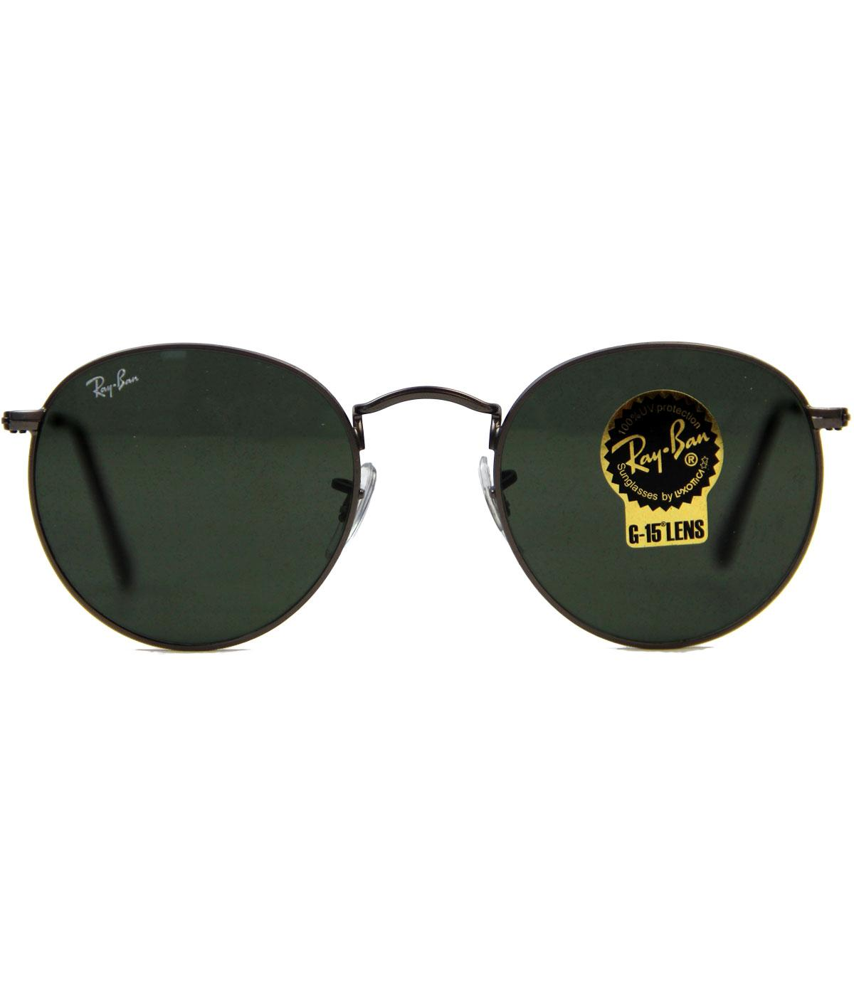 Ray-Ban Retro Mod RB3447 Indie Round Sunglasses GM