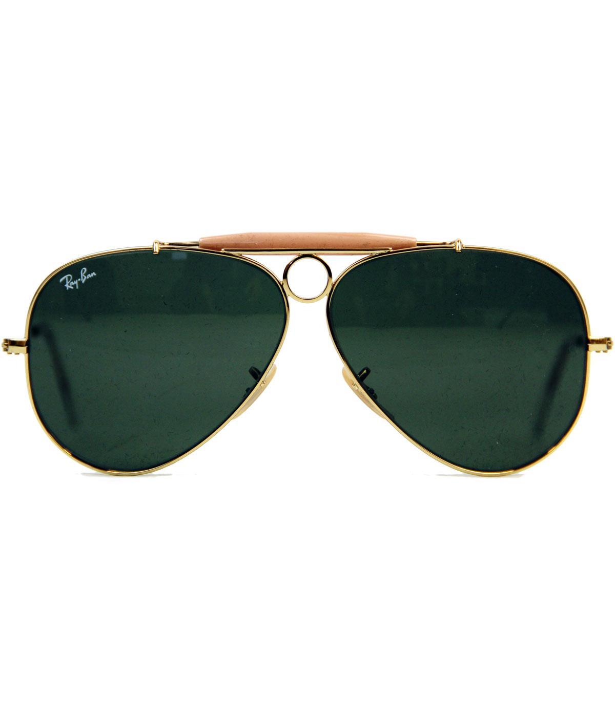 Shooter Ray-Ban Icon Retro Sixties Mod Sunglasses