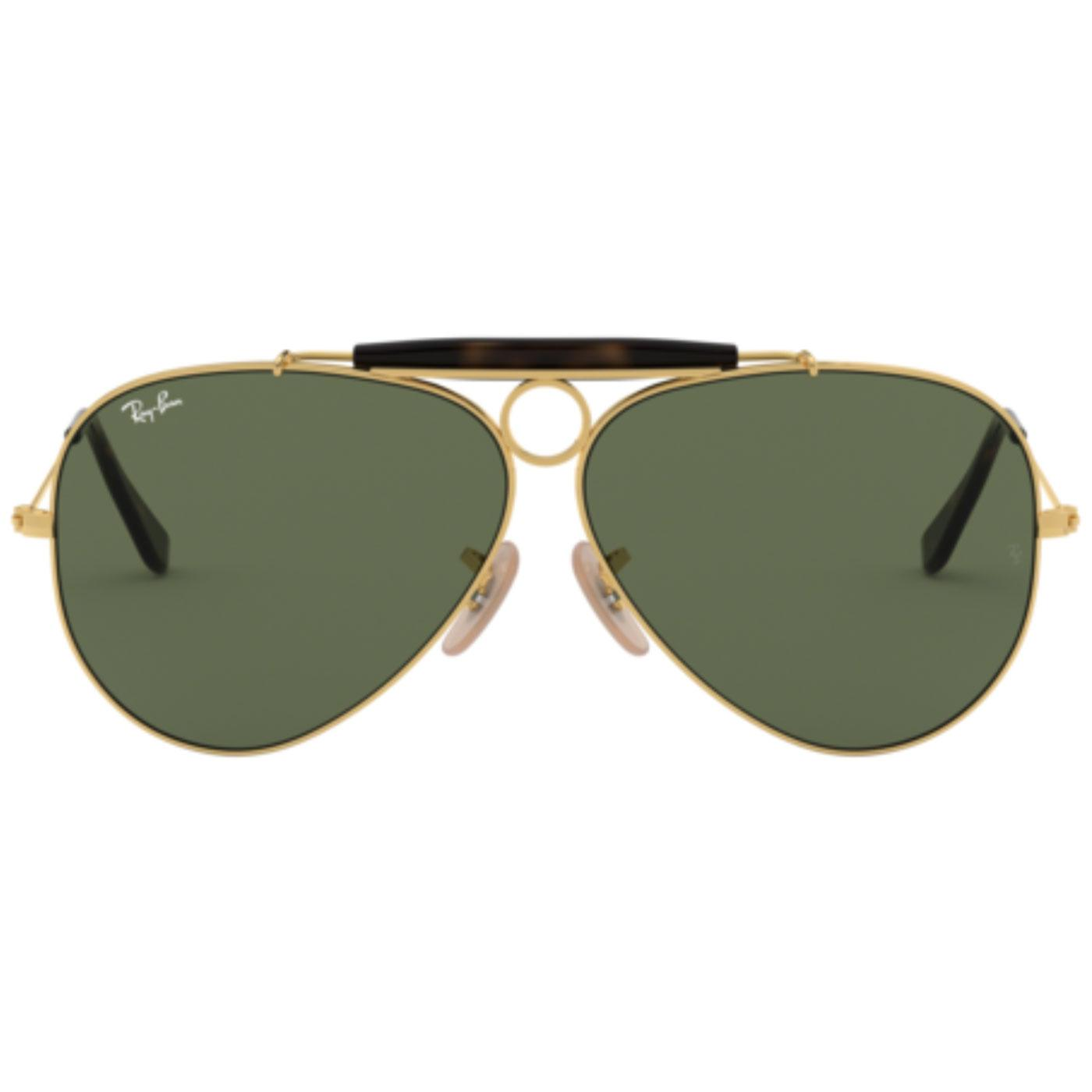 Shooter RAY-BAN Retro 60s Mod Aviator Sunglasses