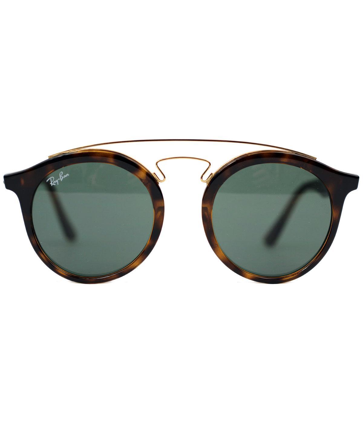 Teashades RAY-BAN Mod Round Clubmaster Sunglasses