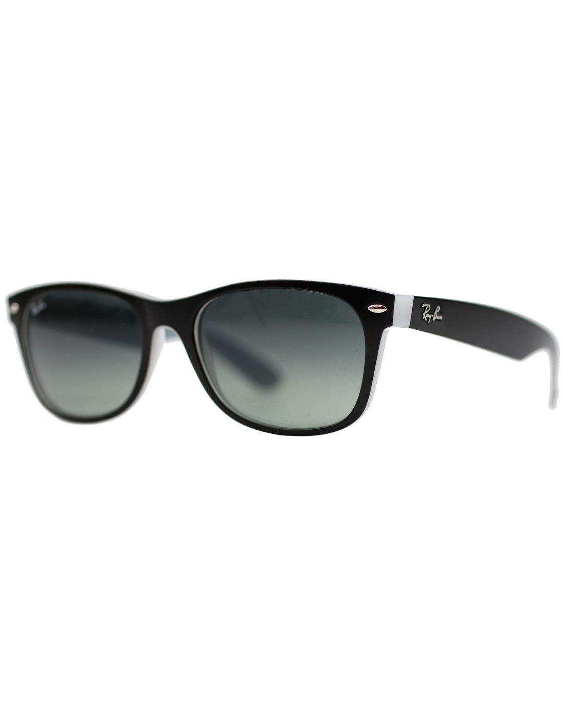 New Wayfarer RAY-BAN Retro Sunglasses - Black/Ice