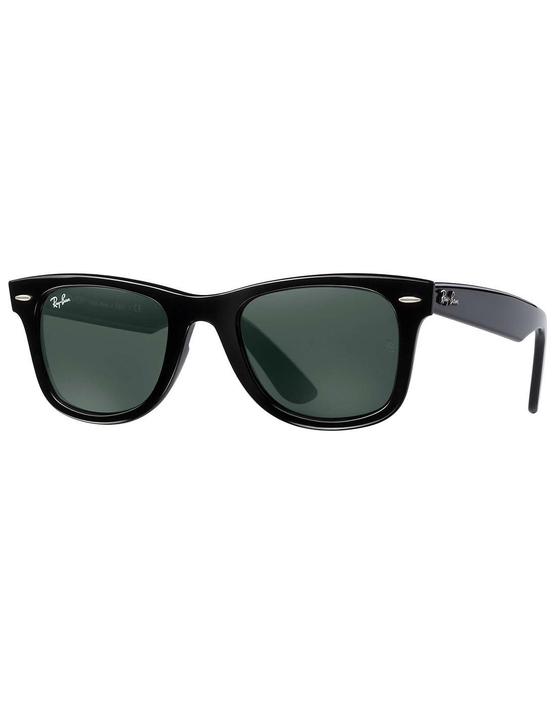 Wayfarer Ease RAY-BAN Retro Mod Sunglasses - Black