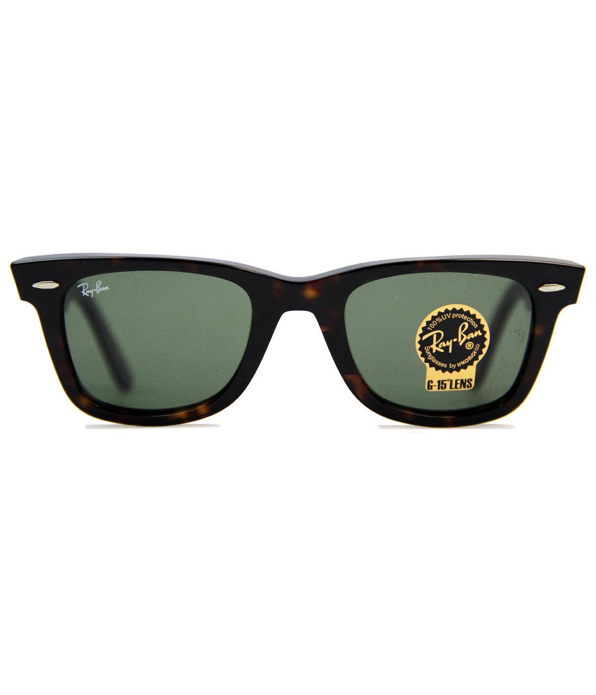 Ray-Ban Retro Mod Wayfarer Indie Sunglasses (Br)