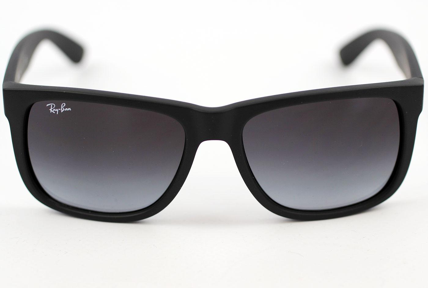 Ray-Ban Justin RB4165 Retro Wayfarer Sunglasses B