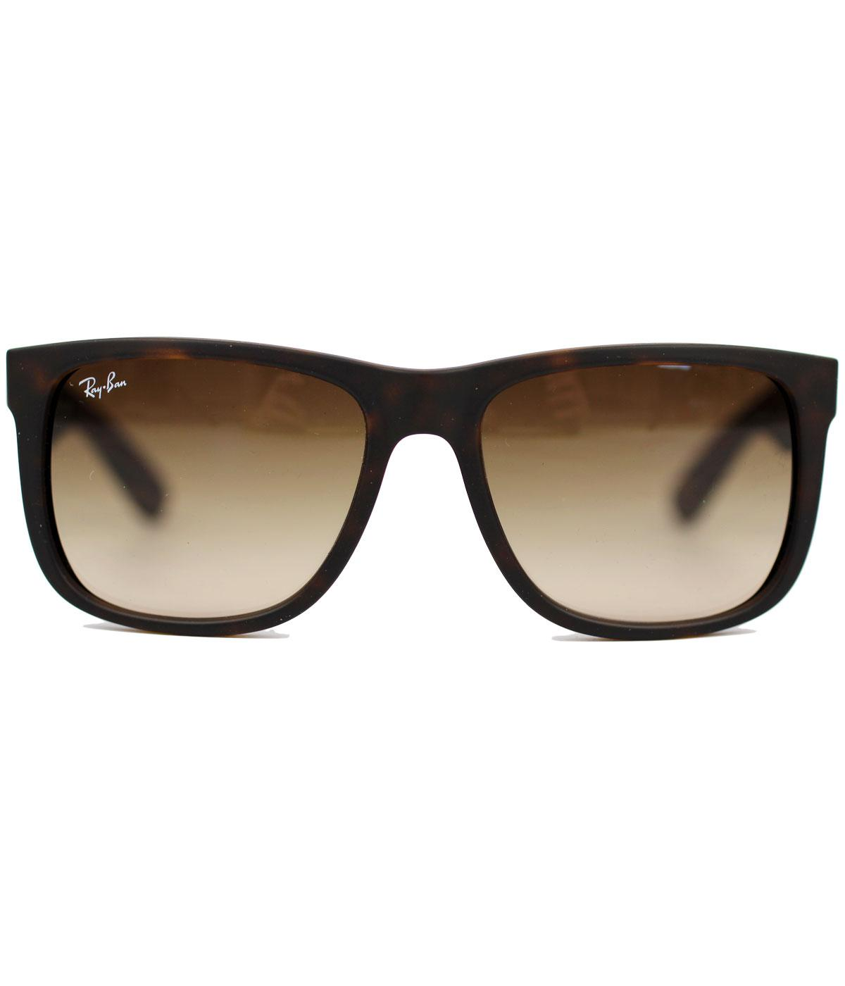 Ray-Ban Justin Retro Havana Wayfarer Sunglasses