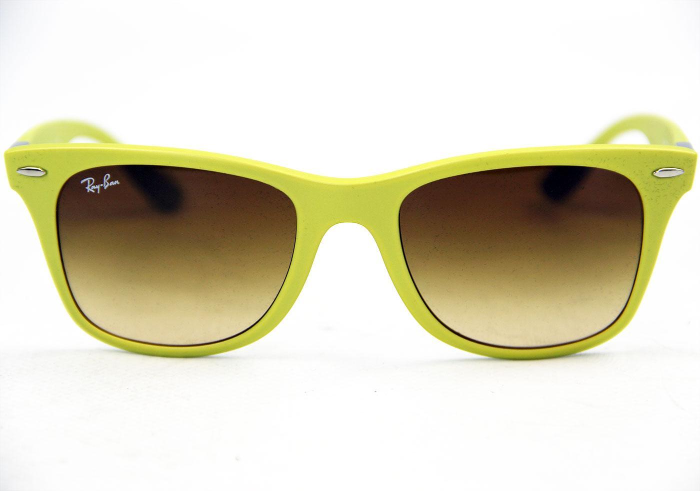 f97b1ab05d Ray-Ban Tech Retro Coloured Liteforce Wayfarers in Yellow