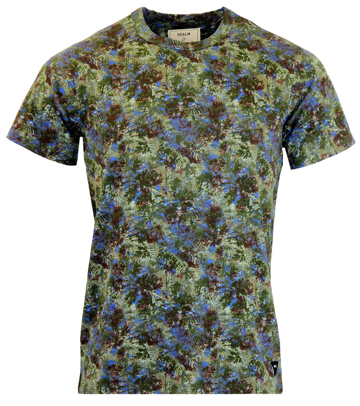 REALM & EMPIRE Marston Retro Trench Camo T-Shirt