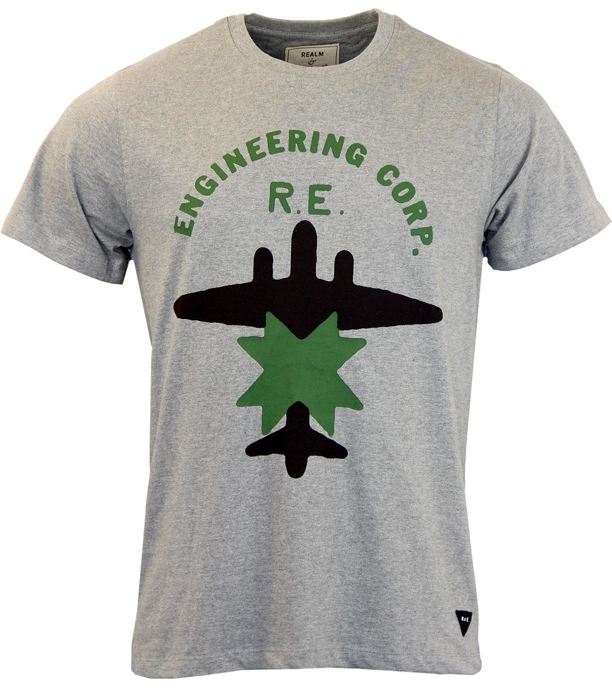 REALM & EMPIRE Retro WWII Engineering Corps Tee
