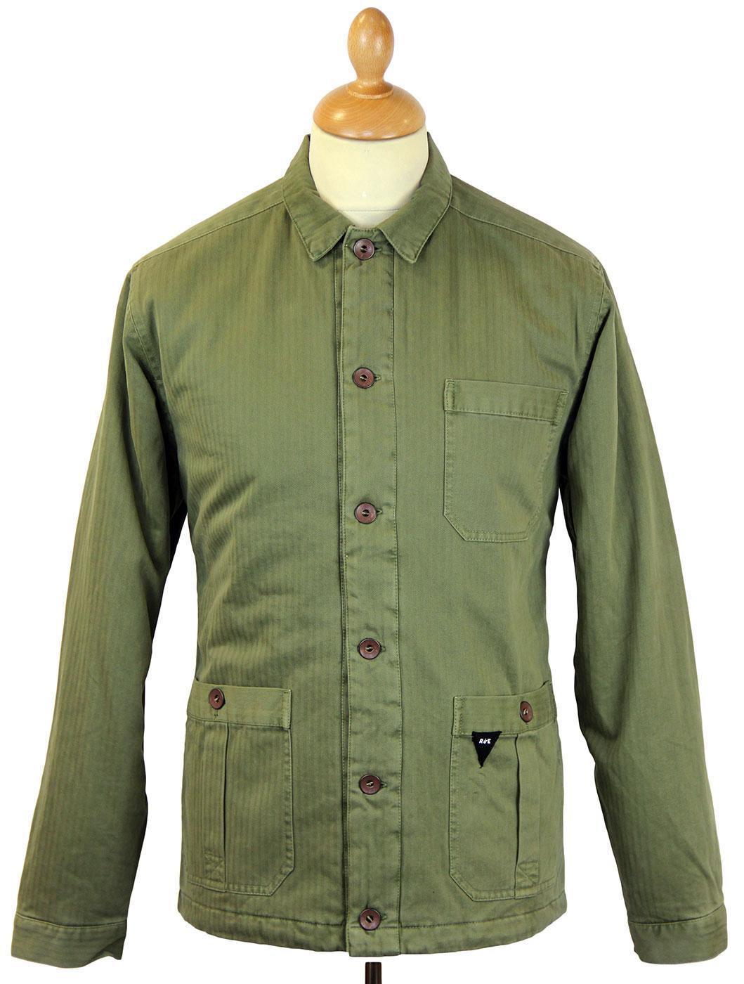 Artisan REALM & EMPIRE Herringbone Quilt Jacket