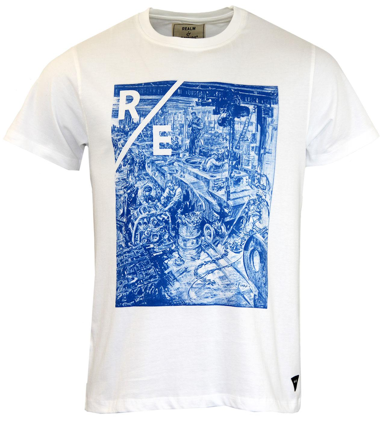 REALM & EMPIRE Hornby Tank Worshop Vintage T-shirt
