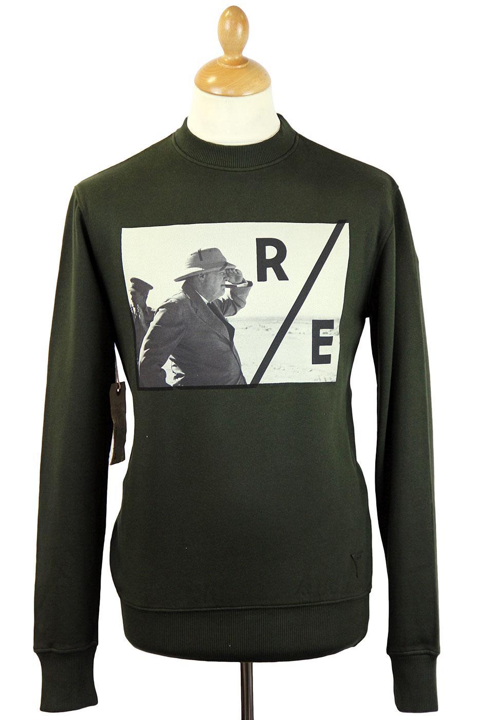 Mr Churchill REALM & EMPIRE Retro Photo Sweater