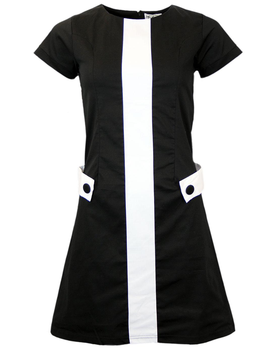 60s a Line Mini Dress