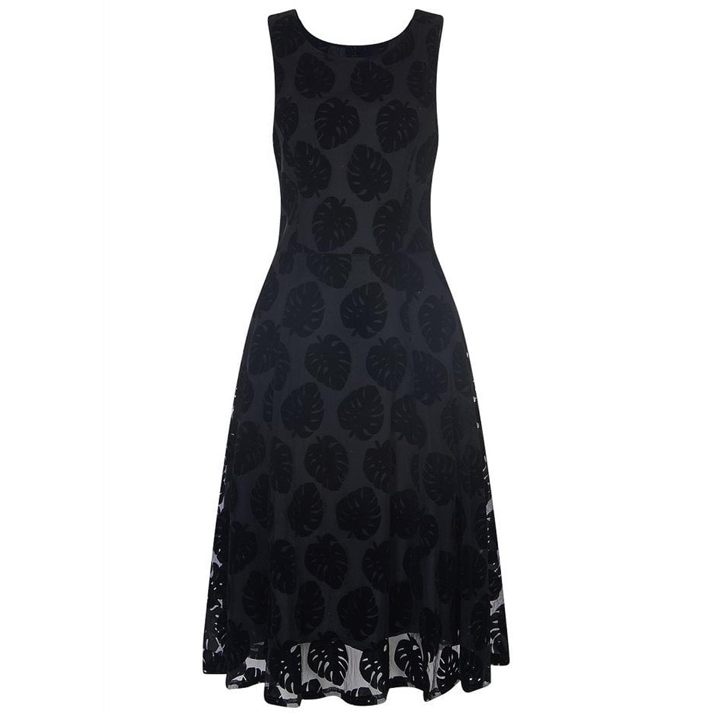 Sandy BRIGHT & BEAUTIFUL Vintage Devoré Dress