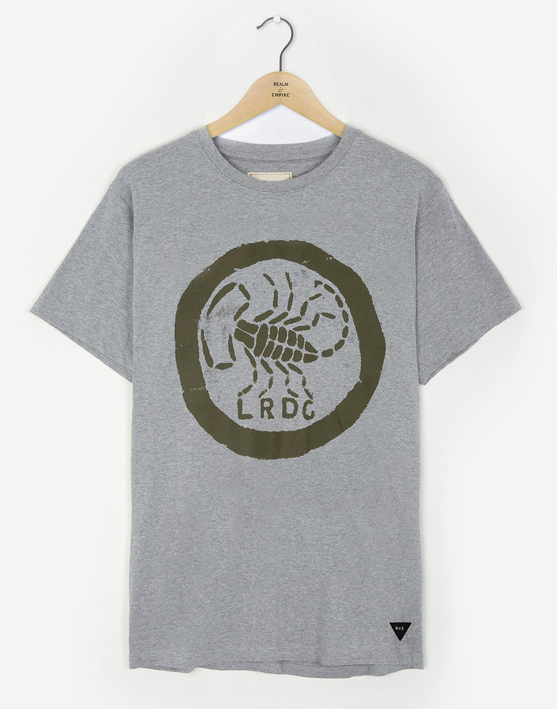 LRDG Scorpion REALM & EMPIRE Retro Logo T-shirt