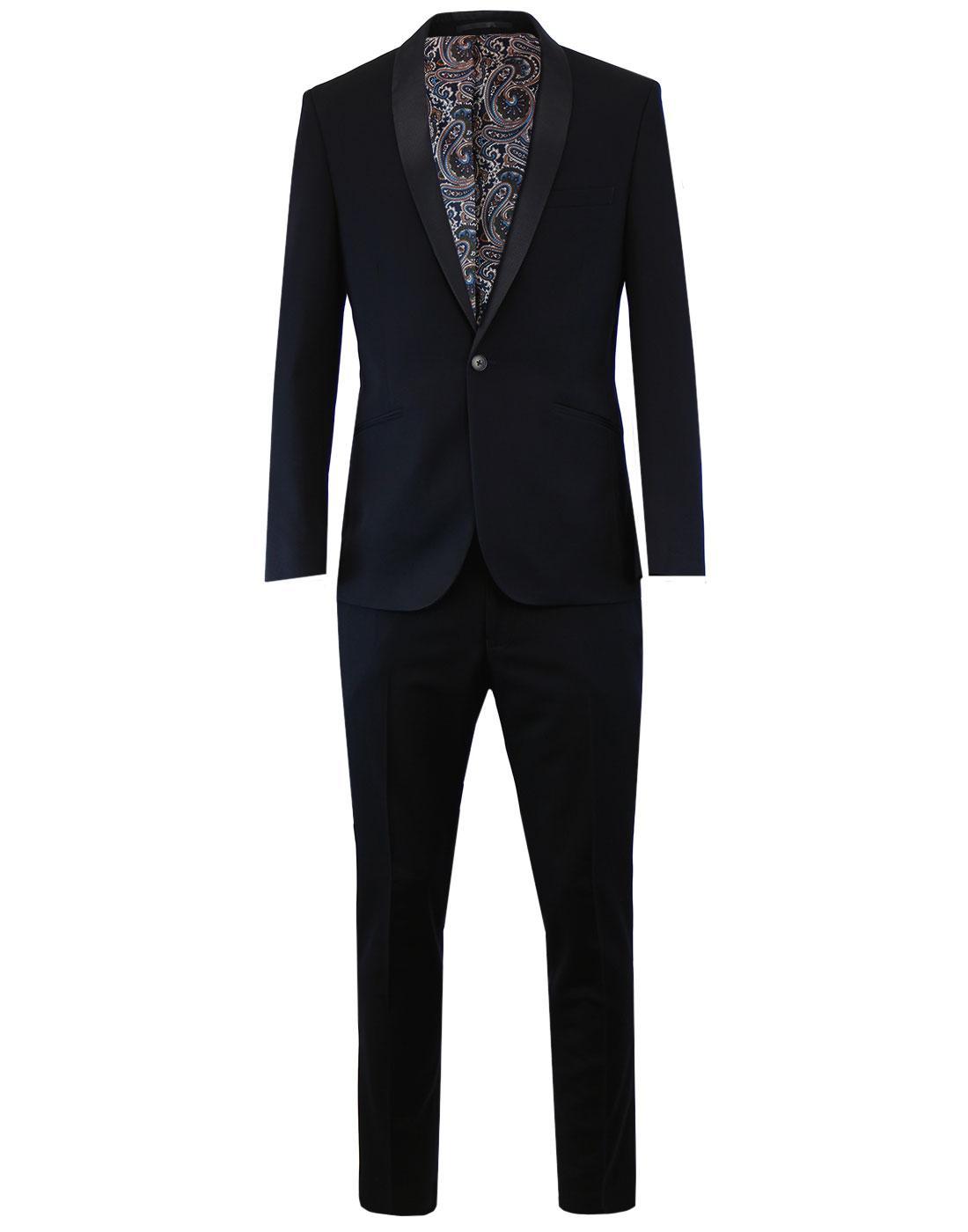 Men's Retro Shawl Collar Dinner/Prom Suit