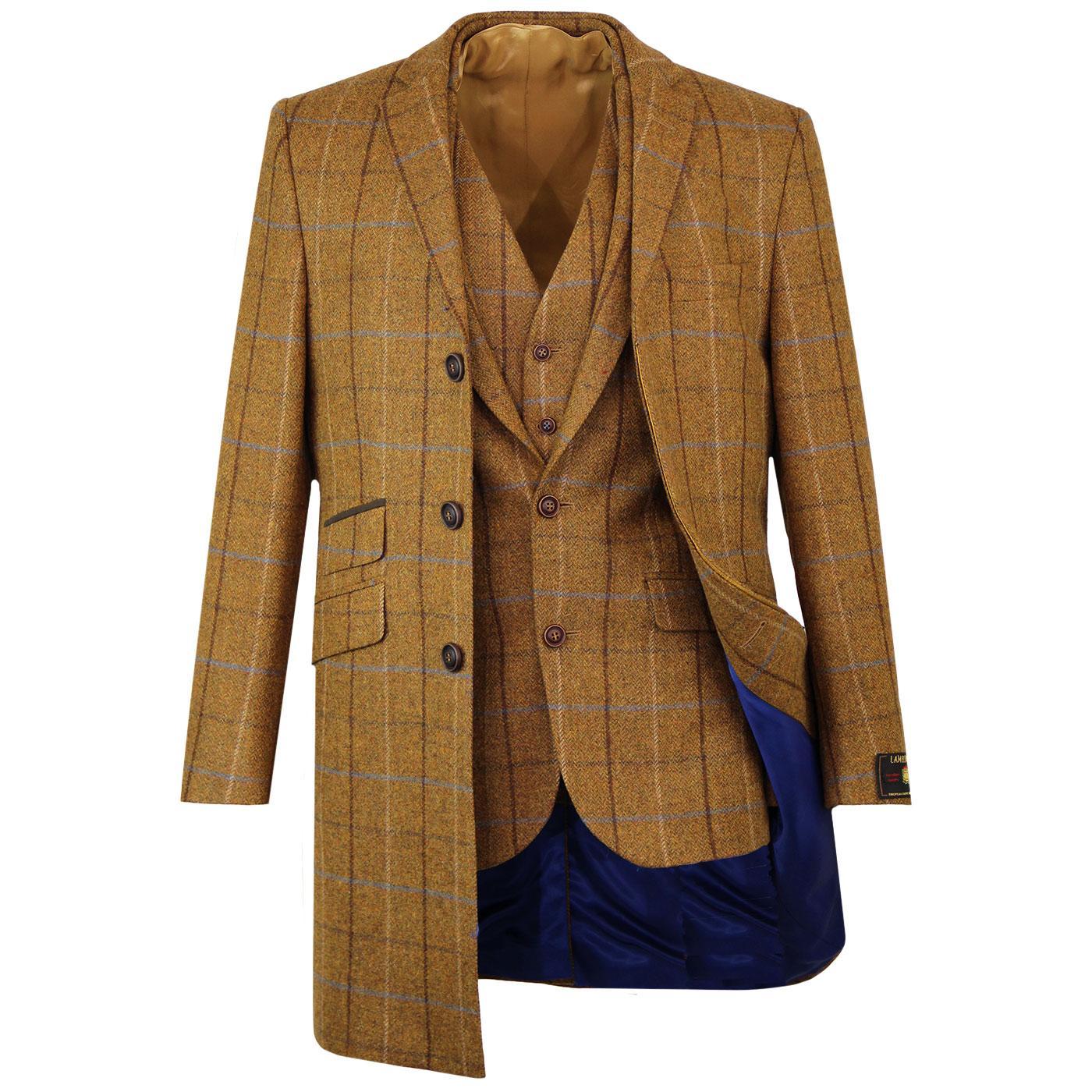 Mod Four Colour Gold Coat, Blazer & Waistcoat