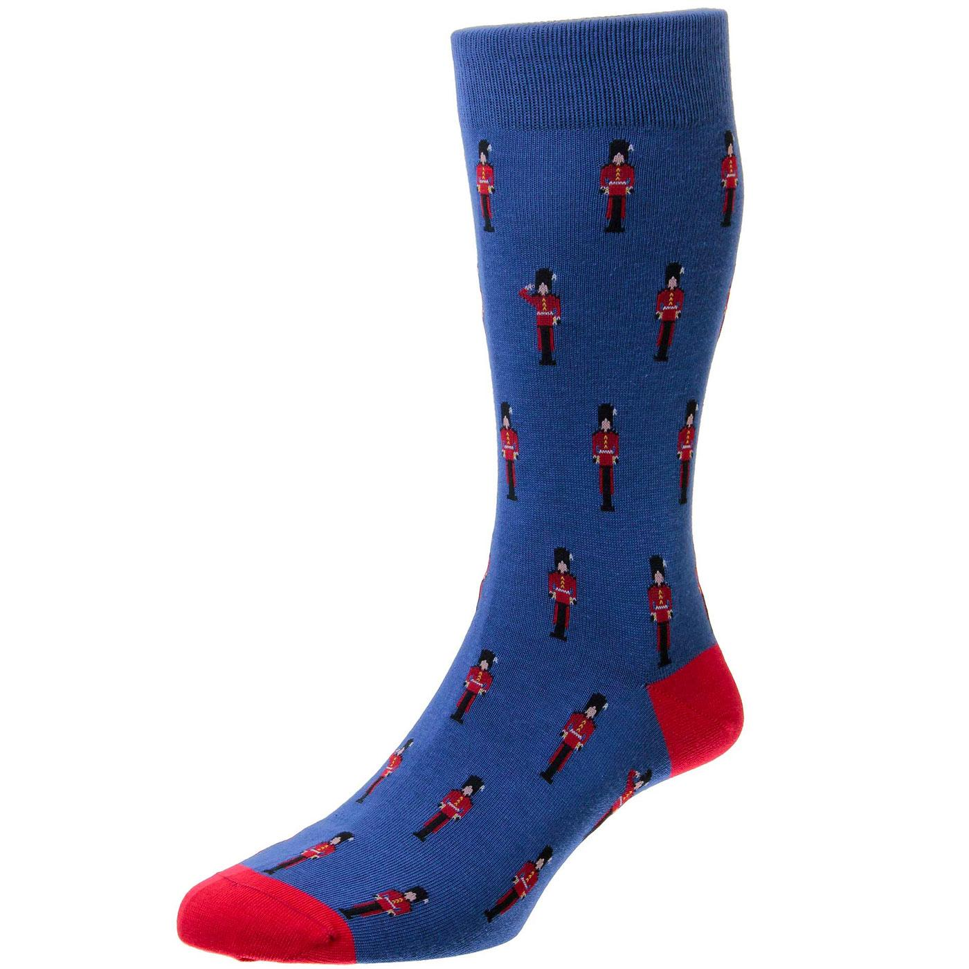 + St James SCOTT-NICHOL Retro Queens Guards Socks