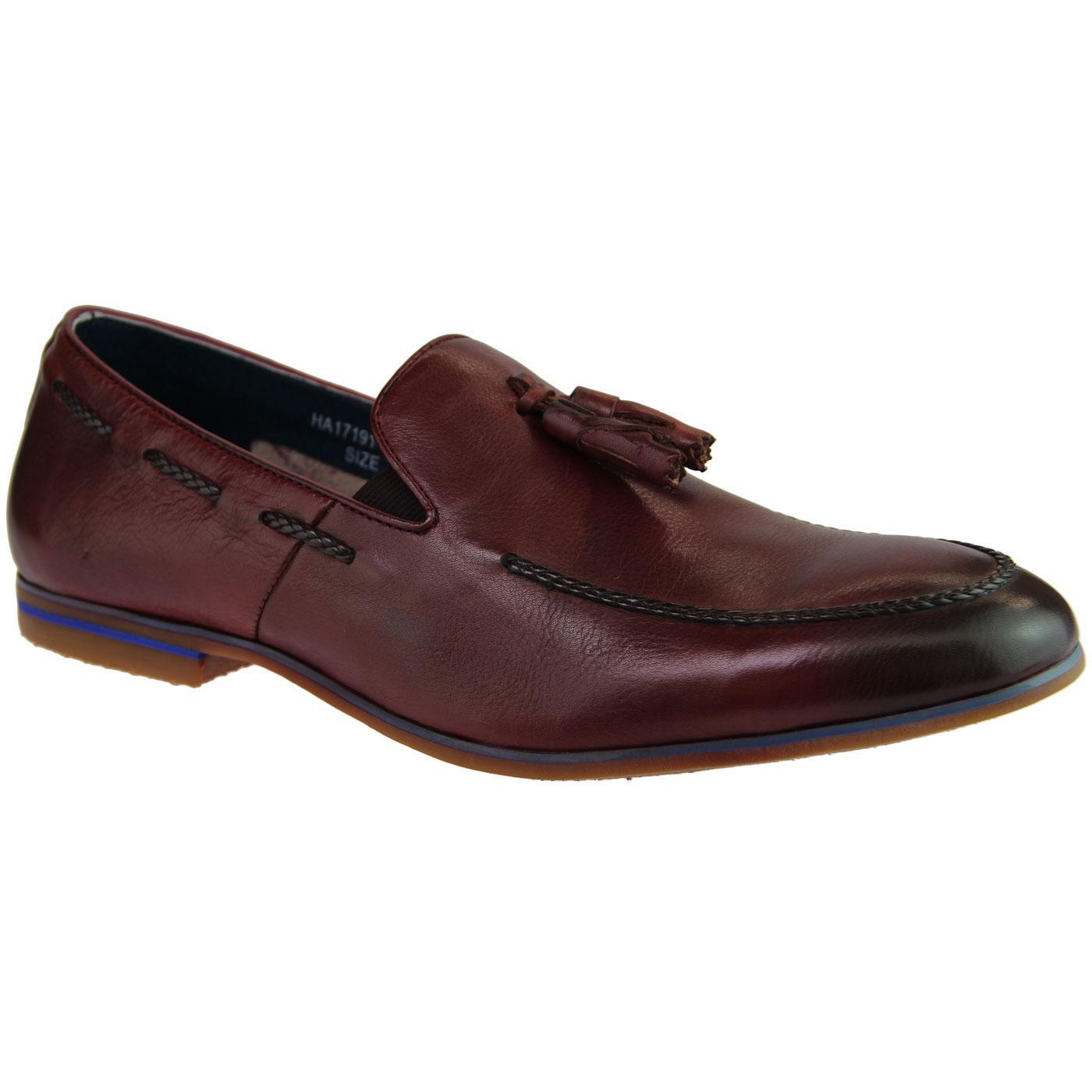 Pierro SERGIO DULETTI Retro Mod Tassel Loafers (W)