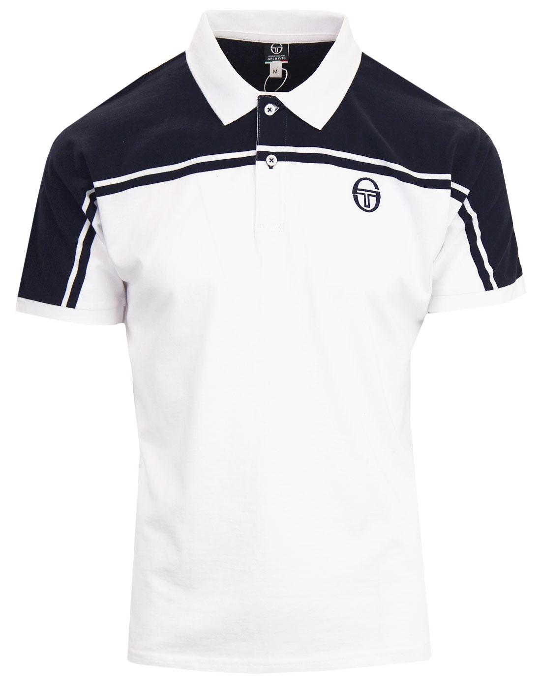New Young Line SERGIO TACCHINI 80s Tennis Polo (N)